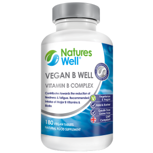 Vegan B Well (Vitamin B Complex) 180 Vegan Tablets